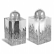 Jerusalem Crystal Salt and Pepper Set