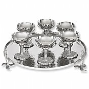 Iris 7 Piece Seder Plate Set <br>Originally $198.00