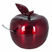 Red Apple Honey Pot
