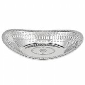 Shabbat Challah  Bread Basket Highly Polished Chome