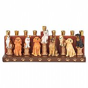 Dog Menorah