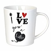I Love You A Latke Mug