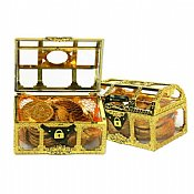 Dairy Hanukkah Gelt Treasure Chest - NUT FREE