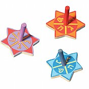 Star Wood Dreidel