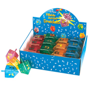2 Part Fillable Candy Dreidel Display Box