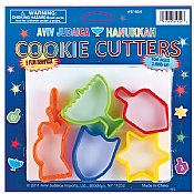 5 pc Hanukkah Cookie Cutters