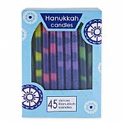 Hanukkah Candles Multi Color