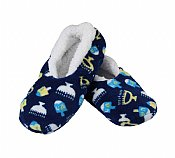 Hanukkah Snuggle Slippers - Older Children Young Adults