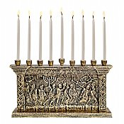 The Arch of Titus Menorah - Gold