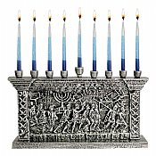 The Arch of Titus Menorah - Silver