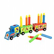 Educational Wooden Kiddie Menorah Train